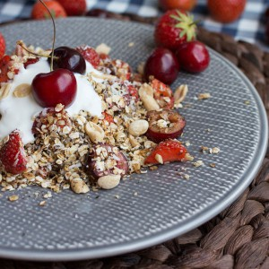 Granola-with-cherries